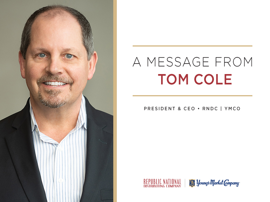 A Message From Tom Cole