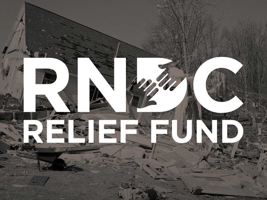 RNDC Relief Fund Donation Campaign Begins